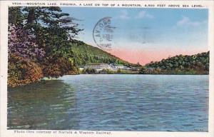 A Lake On Top Of A Mountain 4,500 Feet Above Sea Level Mountain Lake Virginia...