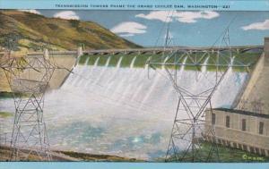 Washington Grand Coulee Dam Transmission Towers