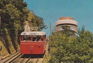 China (Hong Kong) , Peak Tramway between May & Barker Roads , 50-70s