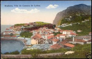 portugal, MADEIRA, Camara de Lobos, Panorama (1910s)