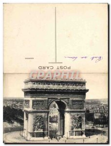 Old Postcard Remembrance for Salvage The Triumphal Arch, which houses the tom...