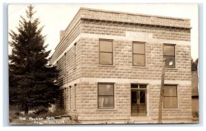 Postcard EB Packer Building, Toulon, Illinois IL 1907-1909 RPPC H7.2