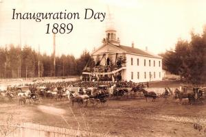 Inauguration Day 1889 - Olympia, Washington