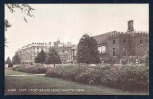 East Front Fives Court Hampton Court England unused c1920's