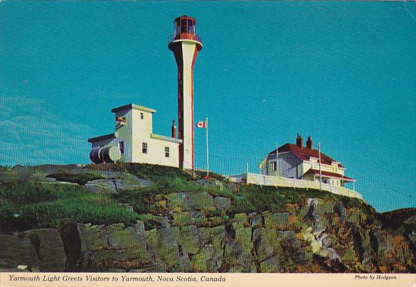 Yarmoutn Lighthouse Yarmouth Nova Scotia Canada