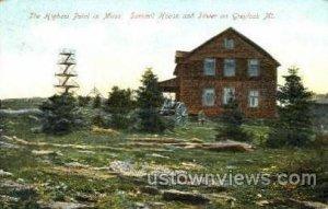 Summit House & Tower - Mt Greylock, Massachusetts MA