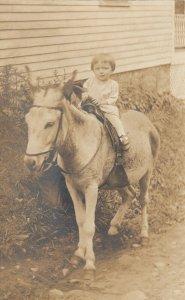 RP: Girl Riding a donkey , 00-10s