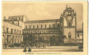 Italy, Monreale, Fianco della Cattedrale, early 1900s
