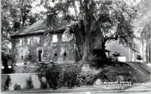 RPPC MARIETTA, OH Ohio  PUTNAM HOUSE Campus Martius Museum  c1950s Postcard