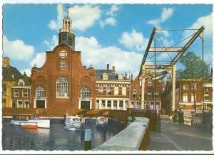Netherlands, Rotterdam, Delfshaven, 1960s unused Postcard