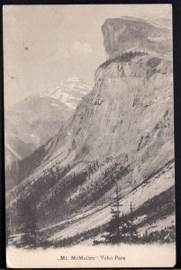 British Columbia Mt. McMullen, Yoho Pass - Divided Back