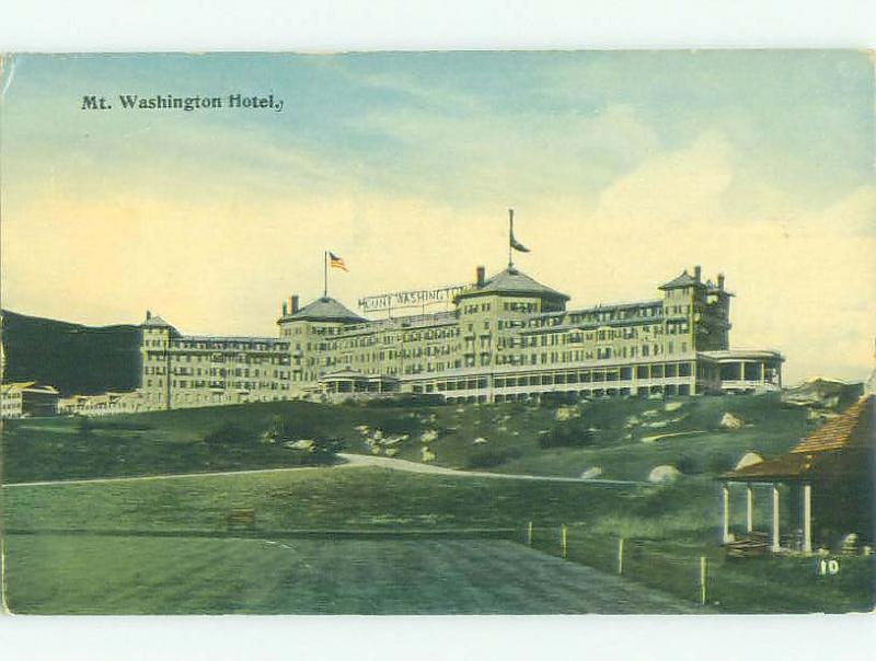 Divided Back MOUNT WASHINGTON HOTEL Bretton Woods New Hampshire NH HQ5351