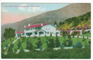 1978  California  Los Angeles    Foothill Home, Southern California