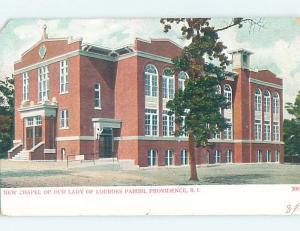 Pre-1907 CHURCH Providence Rhode Island RI A2373