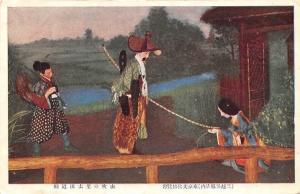 Japan Native People Temple, River Tempel