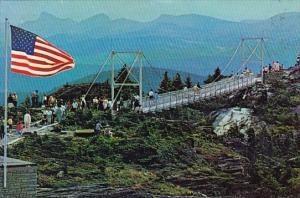 Mile High Swinging Bridge Grandfather Mountain North Carolina