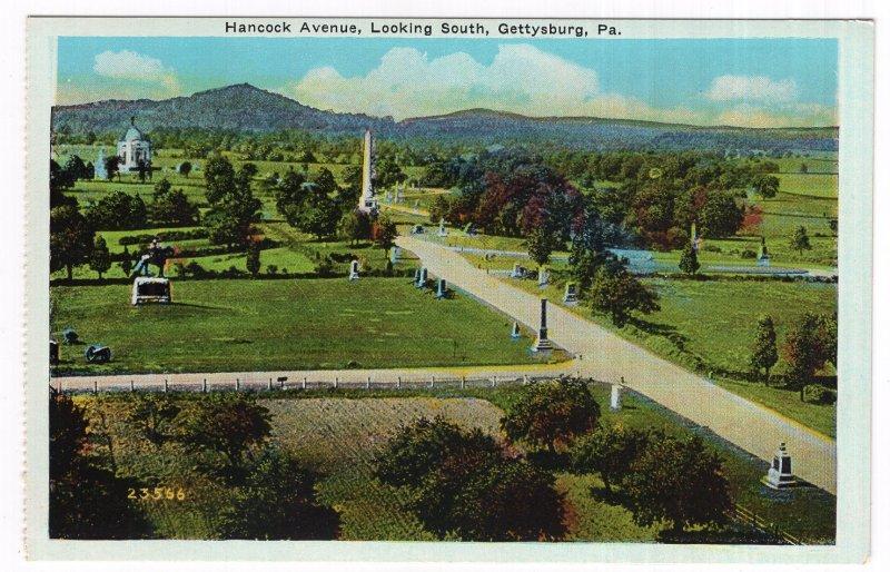 Gettysburg, Pa, Hancock Avenue, Looking South