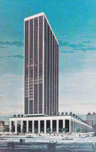 INDIANAPOLIS, Indiana; National Bank Tower, Tallest building in Indiana, Clas...