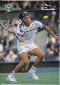 Mark Phillipousis Wimbledon Tennis Champion Postcard