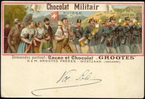 Switzerland Military Music Band (1900s) Grootes Cocoa