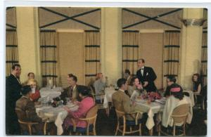 Sun Valley Lodge Dining Room Sun Valley Idaho Union Pacific Railroad postcard