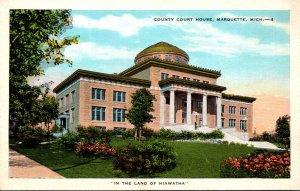 Michigan Marquette County Court House