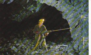 Canada Stope Miner Drilling Gold Ore Yellowknife Mines Northwest Territories