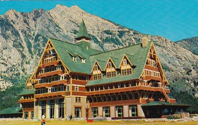 Canada Alberta Prince Of Wales Hotel Waterton Lakes National Park
