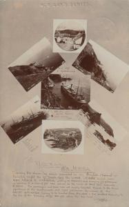 RP: BOLT TAIL , Hope Cove, S. DEVON , England , 1907 ; S.S. JEBBA Shipwreck