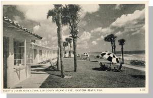 Perry's Ocean-Edge Court Postcard, Daytona Beach, Florida/FL