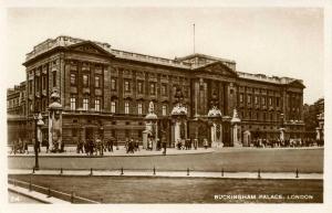 UK - England, London. Buckingham Palace     *RPPC