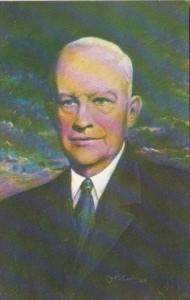 Dwight D Eisenhower Oil Painting by Charles J McCarthy