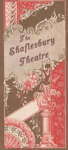 The Belle Of New York Musical London Shaftesbury Theatre Programme