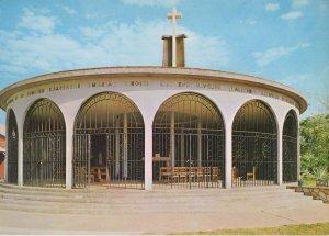 Lake Kariba Rhodesia Church of St. Barbara Postcard