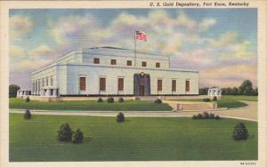 U S Gold Depository Fort Knox Kentucky