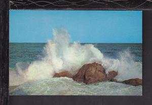 Breakers Shores of NB,Canada Postcard BIN
