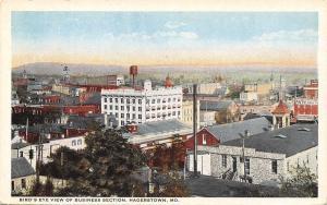 Hagerstown Maryland~Birdsye Business~Antietam~Eyerly's~Water Tower~1920s PC