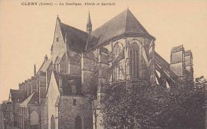 La Basilique, Abside Et Sacristie, Clery (Loiret), France, 1900-1910s
