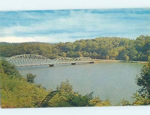 Unused Pre-1980 BRIDGE SCENE Morgantown West Virginia WV H7517