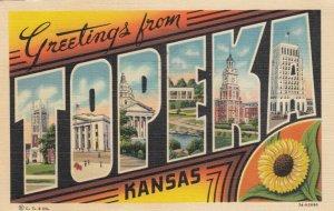 Large Letter Greetings, TOPEKA , Kansas , 1941