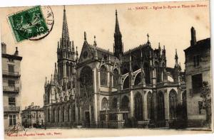 CPA Nancy-Eglise St Epvre et Place des Dames (187285)
