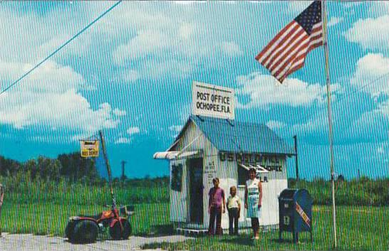 Florida Ochopee Post Office 1980