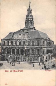 Netherlands Groet uit Maastricht, Stadhuis, City Hall, Town Hall