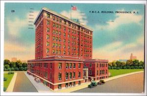 YMCA Building, Providence RI