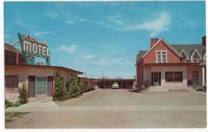 Filmore, Utah, Early View of El Rancho Motel