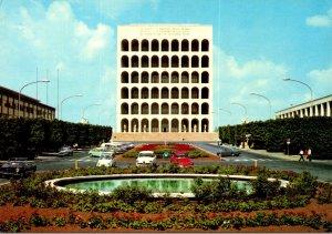 Italy Roma Avenue Of Work Civilization
