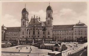 Schweiz Einsiedeln Das Kloster Real Photo