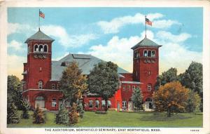 12630 The Auditorium, Northfield Seminary, East Northfield, Mass.