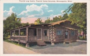 Minnesota Minneapolis Tourist Log Cabin Tourist Camp Grounds