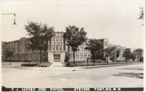 RP: STEVEN'S POINT , Wisconsin, 1930-40s ; High School